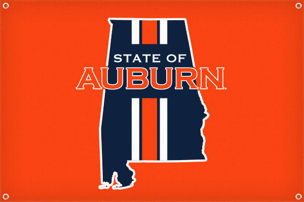 State of Auburn - 2ft x 3ft