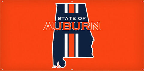 State of Auburn - 3ft x 6ft