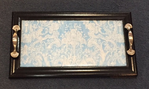 Blue Lace Tray