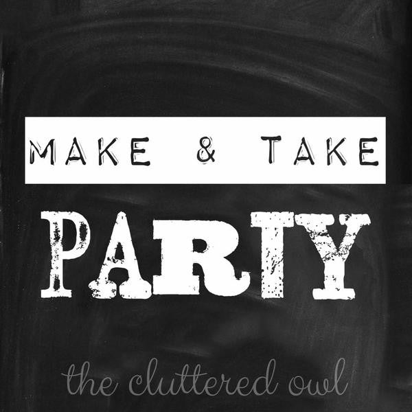 April Make & Take Party @ Whyte Horse Winery