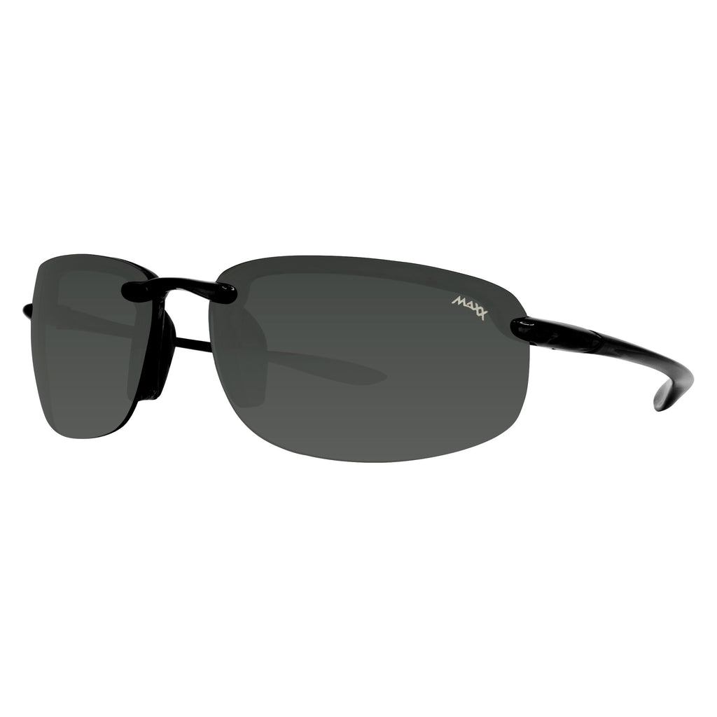 Maxx 5 Polarized Smoke Lens - Black Frame