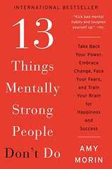 book, 13 things mentally strong people don't do