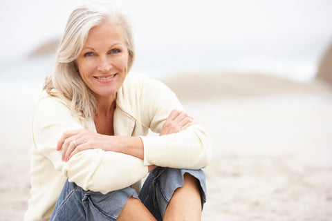 attractive woman in her 60's