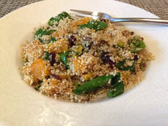 Quinoa salad-healthy skin-organic eating