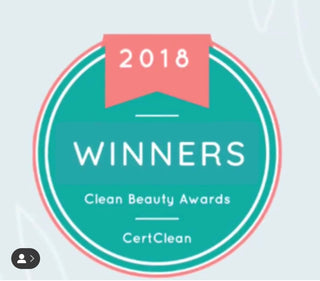 Clean Beauty Award - Parisians Pure Indulgence