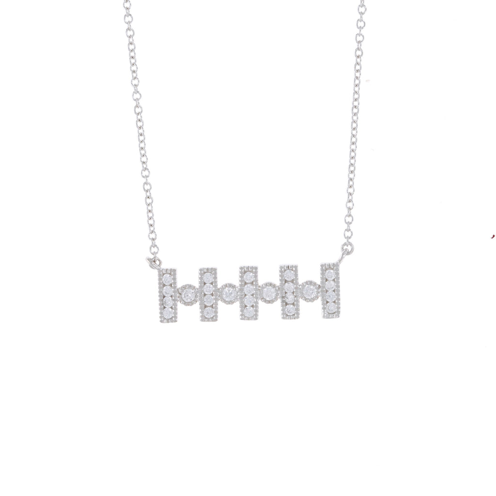 Dot Bar Necklace
