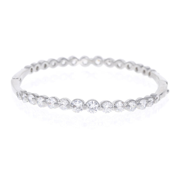 Dahlia Bead Set Cz Bangle