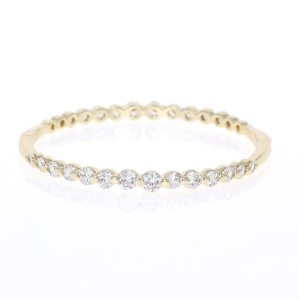 Dahlia Golden Bead Set Cz Bracelet