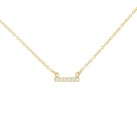Tiny Bar Necklace