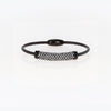 Black Pave Cable Bracelet