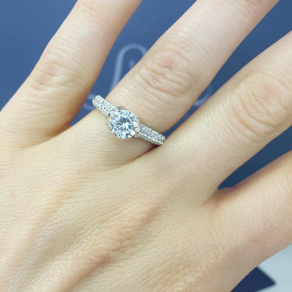 1ctw Solitaire Ring