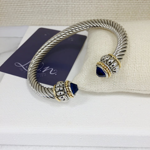 Brooke Tanzanite Cable Bracelet
