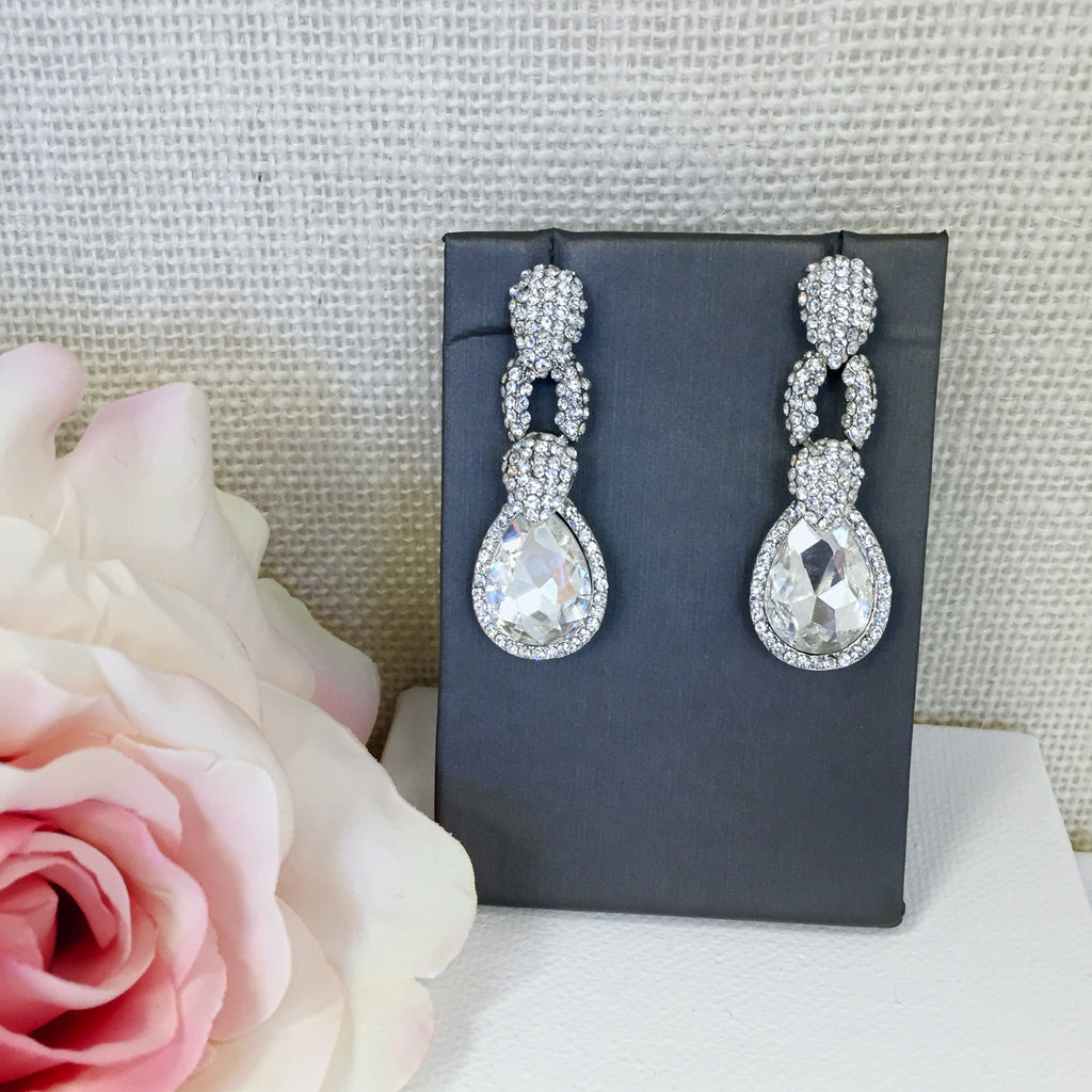 Madelyn Crystal Earrings