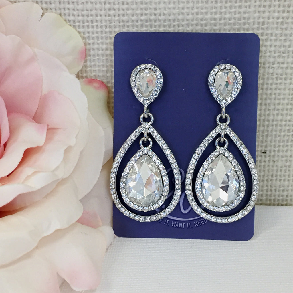 Crystal Crush Earrings