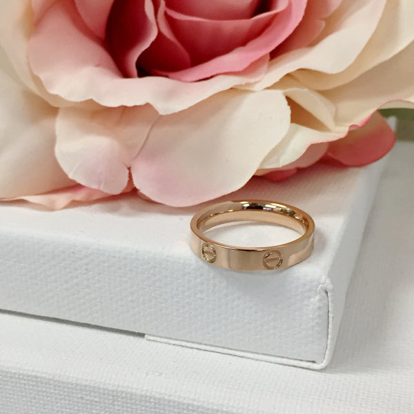 Adore Rose Stacking Ring