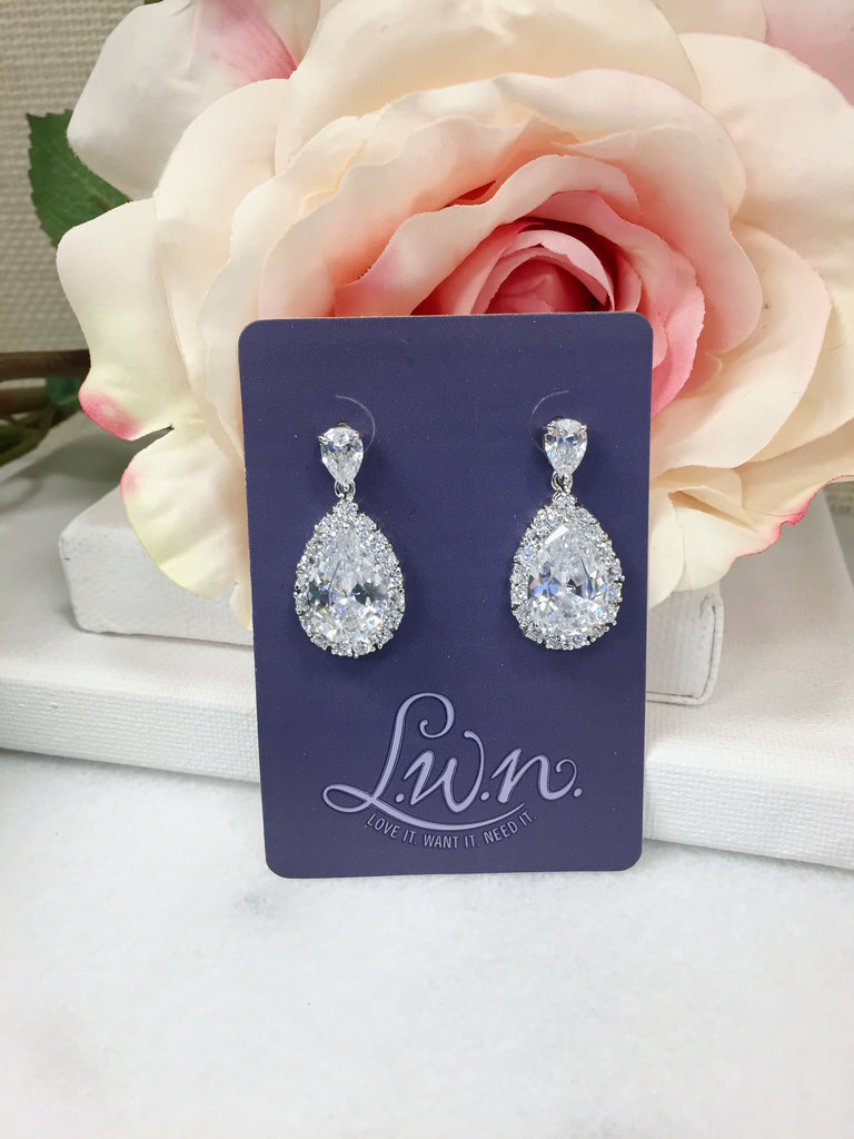 Perfect Pear Drop Earrings