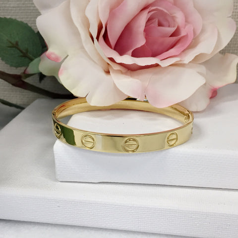 Adore Large Golden Bracelet