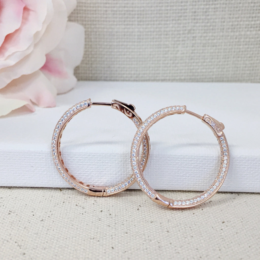 Emily Rose Gold Hoops
