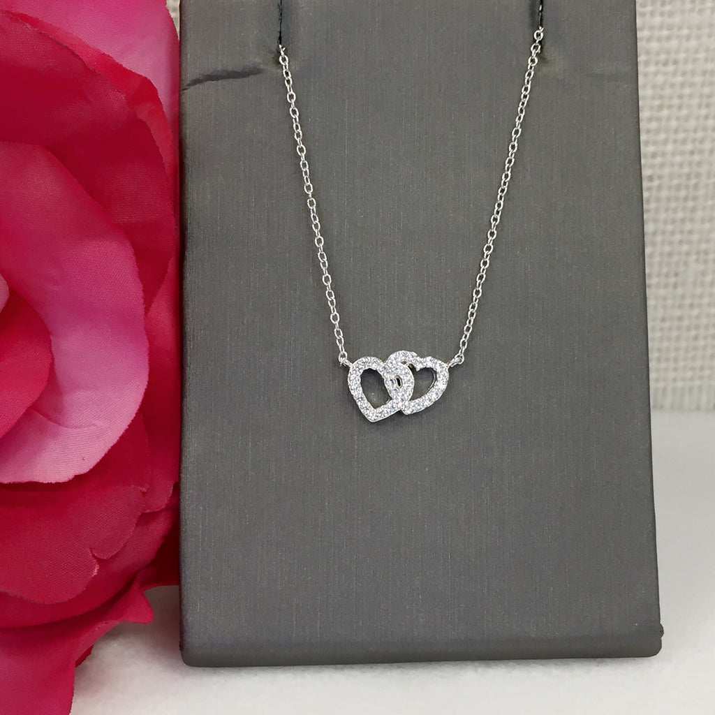 Connected Heart Necklace