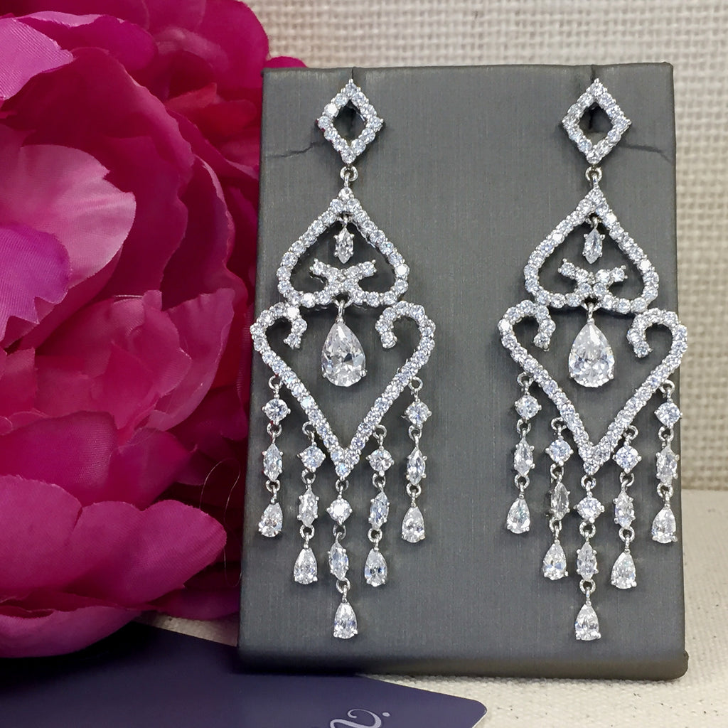 Marquise Chandelier Earrings