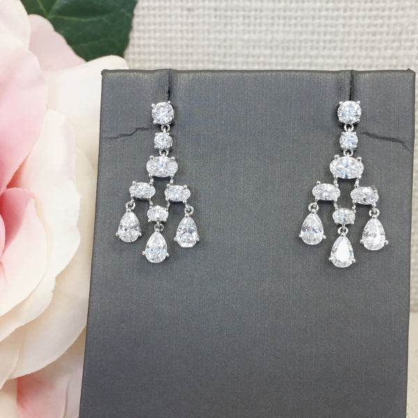 Cascading Chandelier Earrings