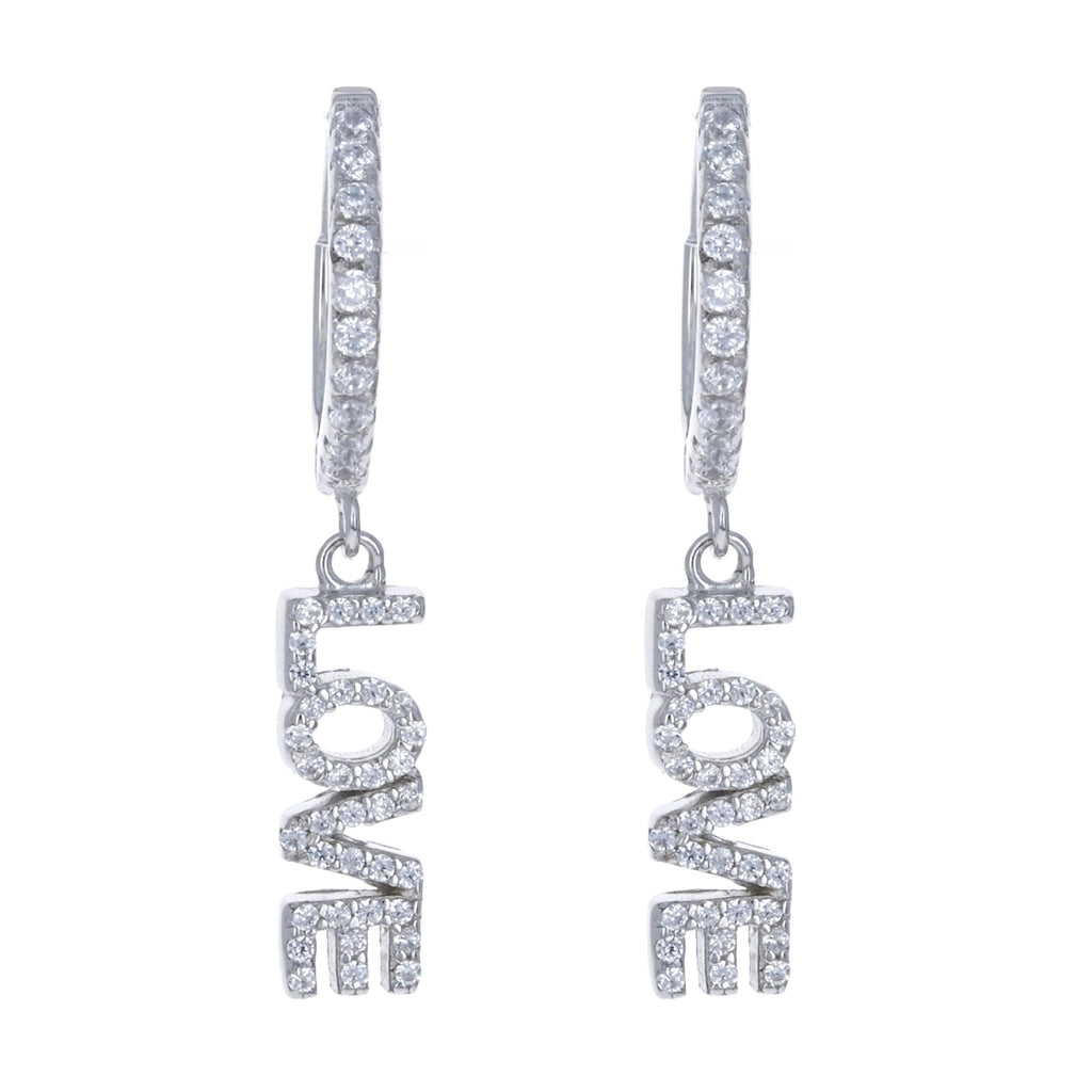 Single Love Charm Earring