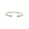 Blakely Thin Amethsyt Cable Bracelet