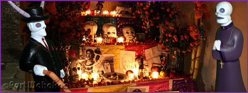 Shrine of the Day of the Dead Clergy and Banker