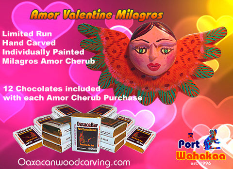 Valentine Amor Milagros and Chocolate