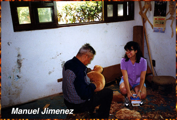 Don Manuel Jimenez  Inventor of Oaxacan Wood Carving