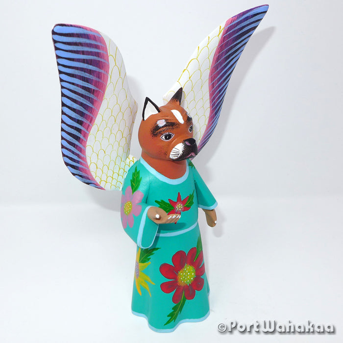 Oh Heavenly Dog Oaxacan Carving Artist - Avelino Perez Port Wahakaa angel, Avatar, Carving Medium, Dog, La Union, Perro