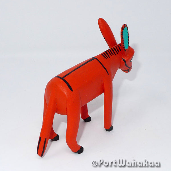 Sunburn Burro - Oaxaca Wood Carving Alebrijes Animal Mexican Copal