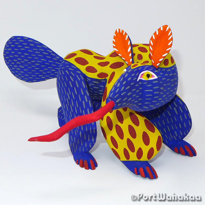 Superior Anteater Oaxacan Carving Artist - Moises Jimenez Port Wahakaa Anteater, Carving Large, Oso Homiguero