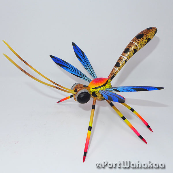 Golden Dragonfly Oaxacan Carving Artist - Blas Family Port Wahakaa