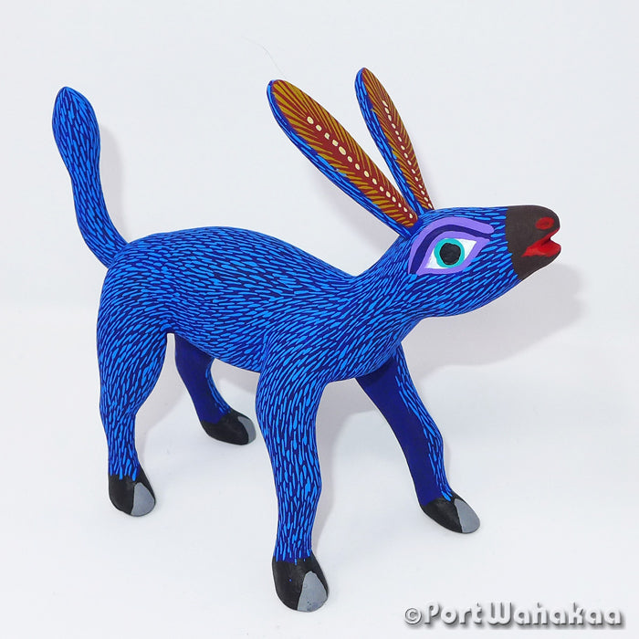 Whinnying Burro Oaxacan Carving Artist - Rocio Hernandez Port Wahakaa Arrazola, Burro, Caballo, Carving Medium