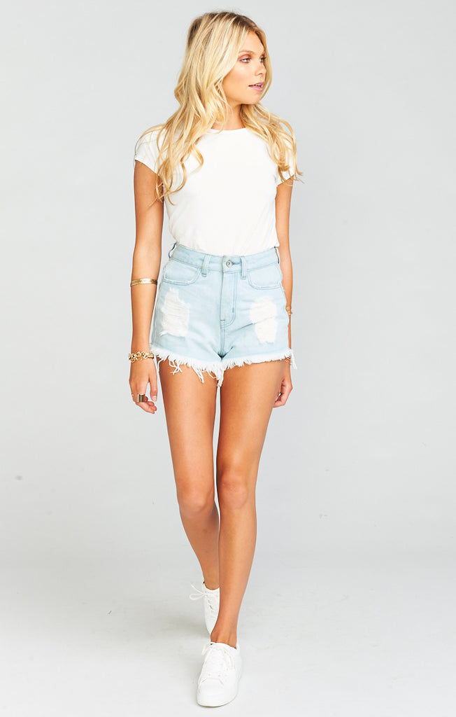 Wyoming High Waisted Shorts