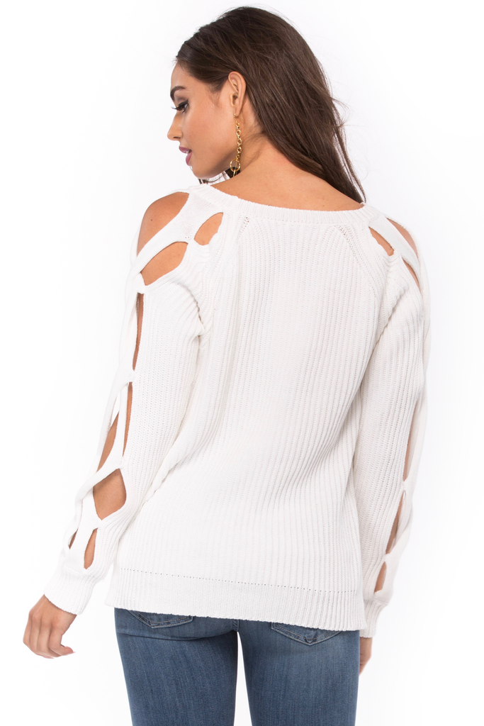 Cease Fire Knit Sweater