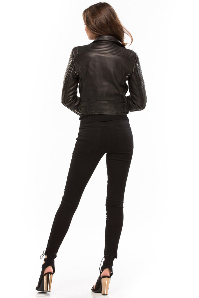 Queen Of Concrete City Biker Jacket