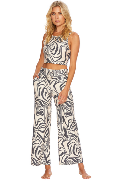 Hailey Pant Psychedelic Swirl