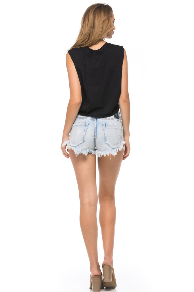 Jet Setter Muscle Tee
