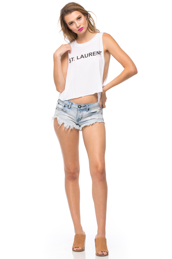 St. Laurent Muscle Tee