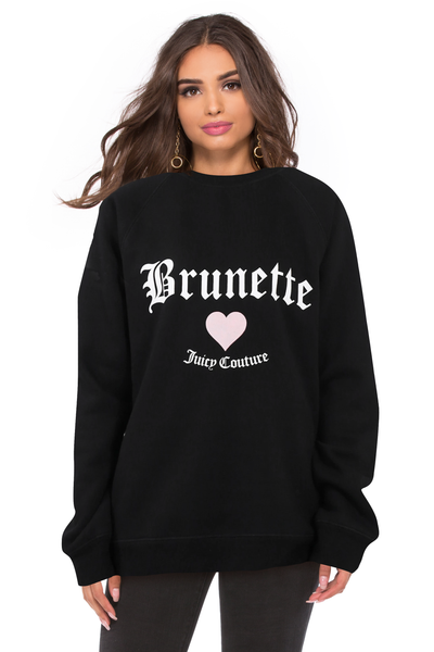 Brunette Classic Crew - Juicy Couture