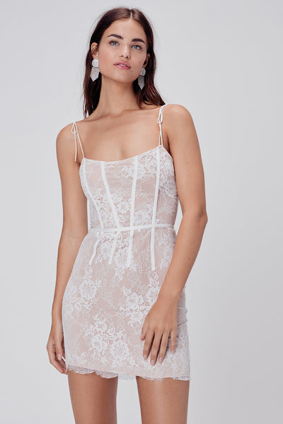 Cheyenne Lace Mini Dress