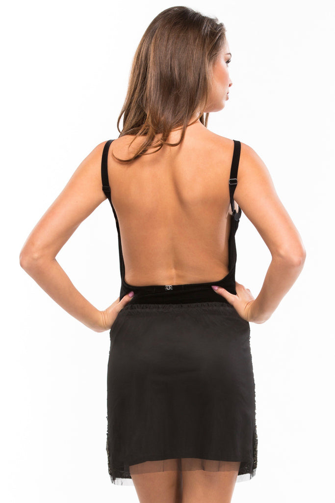 Basically Backless Bodysuit - Sugarillashop.com