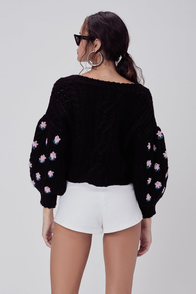 Savannah Cropped Cardigan