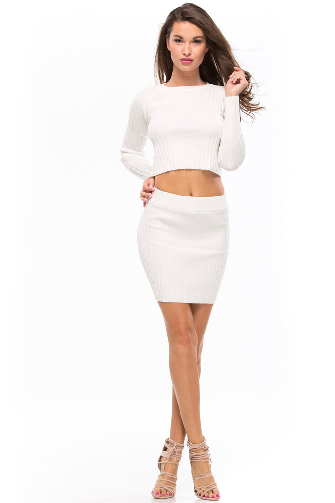Snuggler Ribbed Skirt