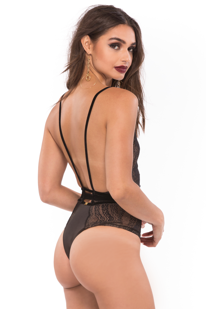 Evie Lace Bodysuit - Sugarillashop.com