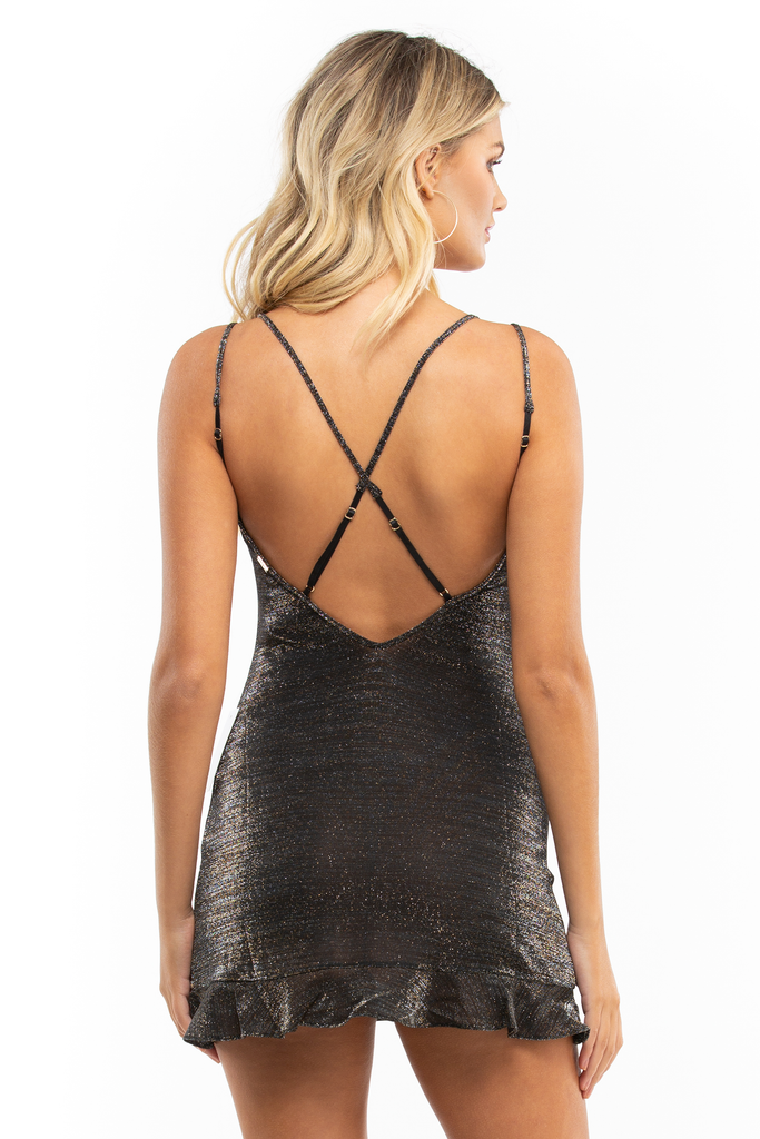Baccarat Glitter Knit Sleep Dress