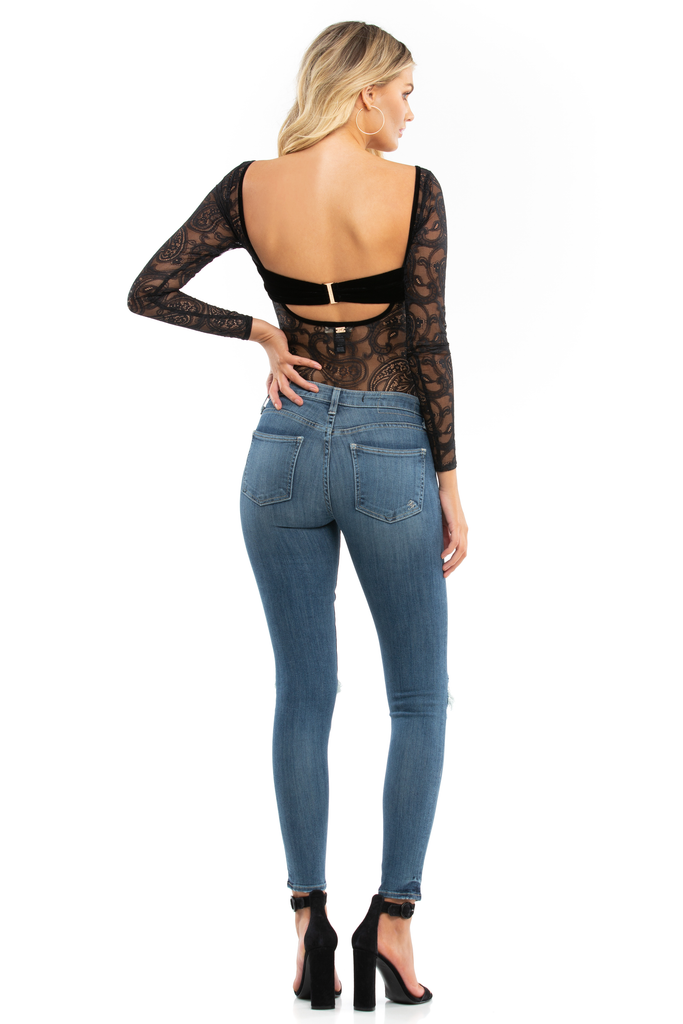 Romy Long Sleeve Bodysuit