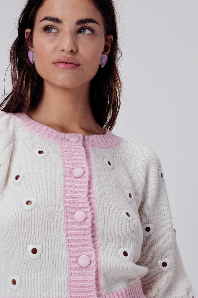 Lovejoy Cropped Cardigan